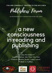 9TH CORA Publishers' Forum